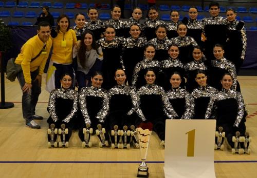 Campionat d 39 espanya de grups xou 2013 club patinatge - Pavello olimpic reus ...